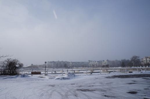 Cobourg snow